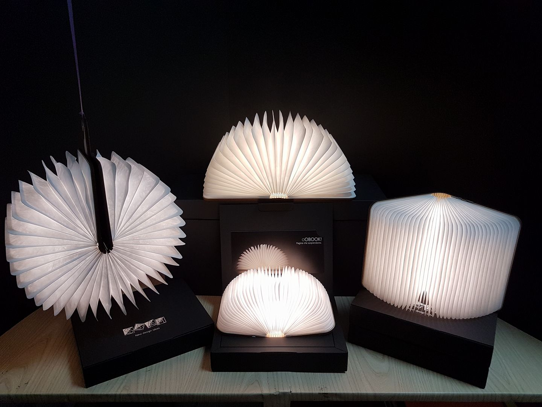 2 Queste lampade fatte a libro sono semplicemente stupende!!
